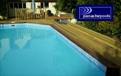 Wooden Pool Kits Swimming Pool Options Panache Pools